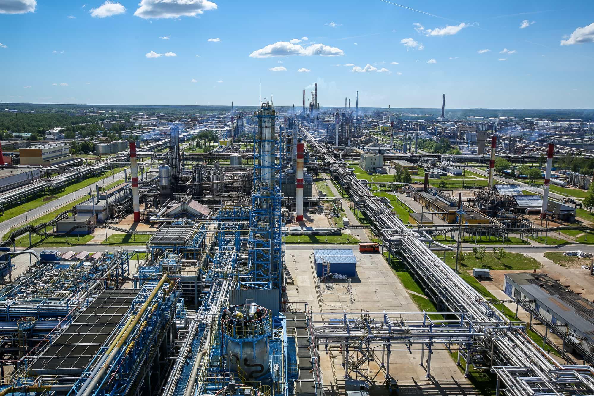 Химия, нефть и газ